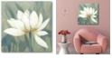 """Courtside Market Waterlily II Gallery-Wrapped Canvas Wall Art - 16"""" x 16"""""""