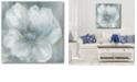 "Courtside Market Grey Flower II Gallery-Wrapped Canvas Wall Art - 30"" x 30"""