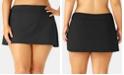 Anne Cole Plus Size Basic Swim Skirt