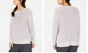 Eileen Fisher Organic Cotton Drop-Shoulder Sweater