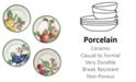 Villeroy & Boch French Garden Modern Fruit Set/4 Salad Plate