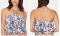 Vera Bradley Bailey Floral-Print Tankini Top