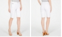 INC International Concepts INC Petite Denim Bermuda Shorts, Created for Macy's