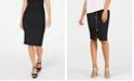 Thalia Sodi Zipper Printed Scuba Skirt, Created for Macy's