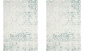 """Safavieh Passion Turquoise and Ivory 5'1"""" x 7'7"""" Area Rug"""