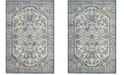 Safavieh Artisan Silver and Blue 4' x 6' Area Rug