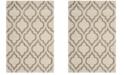 Safavieh Hudson Ivory and Beige 4' x 6' Area Rug