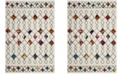 Safavieh Fiesta Cream and Multi 4' x 6' Area Rug