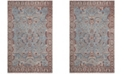 """Safavieh Classic Vintage Blue and Red 2'3"""" x 8' Runner Area Rug"""