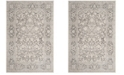 "Safavieh Reflection Dark Gray and Cream 6'7"" x 6'7"" Square Area Rug"