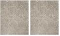 Safavieh Hudson Ivory and Gray 8' x 10' Area Rug