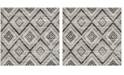 Safavieh Skyler Gray and Black 8' x 8' Square Area Rug