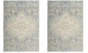 Safavieh Windsor Blue and Lime 3' x 8' Area Rug