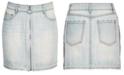 Epic Threads Big Girls Side Stripe Cotton Denim Skirt, Created for Macy's