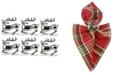 Design Import Stag Napkin Ring, Set of 6