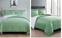 VCNY Home Micro Mink Sherpa 3 Piece King Comforter Set