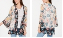 Style & Co Floral-Print Kimono, Created for Macy's