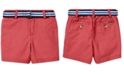 Polo Ralph Lauren Baby Boys Belted Stretch Chino Shorts