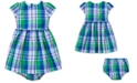 Polo Ralph Lauren Baby Girls Tartan Dress