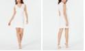 French Connection Lula Scalloped Sheath Dress