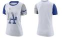 Nike Women's Los Angeles Dodgers Slub Logo Crew T-Shirt