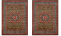 Safavieh Mahal Navy and Red 11' x 16' Rectangle Area Rug