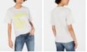 True Vintage Cotton Text-Graphic T-Shirt