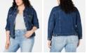 Levi's Trendy Plus Size Denim Trucker Jacket
