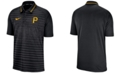 Nike Men's Pittsburgh Pirates Stripe Game Polo