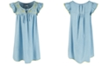 Epic Threads Big Girls Embroidered Shift Dress, Created for Macy's