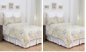 C&F Home Taupe Shells King 3 Piece Quilt Set
