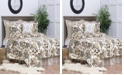 C&F Home Silhouette Palm Full Queen 3 Piece Quilt Set