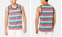INC International Concepts I.N.C. Men's Pride Stripe Tank Top, Created for Macy's