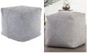 Jaipur Living  Bridgehampton Solid Gray Indoor/ Outdoor Pouf Collection