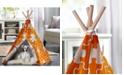 zoovilla Pet Teepee, Orange Puzzle, Medium