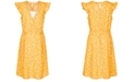 Monteau Big Girls Floral-Print A-Line Dress