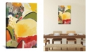 """iCanvas """"Yellow Hill"""" By Kim Parker Gallery-Wrapped Canvas Print - 40"""" x 26"""" x 0.75"""""""