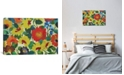 "iCanvas ""Zinnia Meadow"" By Kim Parker Gallery-Wrapped Canvas Print - 26"" x 40"" x 0.75"""