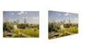 "Trademark Global Vasily Polenov 'Moscow Patio' Canvas Art - 32"" x 24"" x 2"""