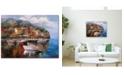 "Trademark Global Joval 'At Sea' Canvas Art - 24"" x 32"" x 2"""