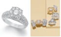 Macy's Diamond Engagement Ring in 14k White, Rose or Yellow Gold (2 ct. t.w.)