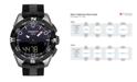 Tissot Men's T-Touch Expert Solar II Antimagnetic Black Strap Watch 45mm