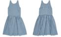 Polo Ralph Lauren Big Girls Gingham Cotton Dress