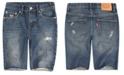 Levi's Big Boys 511 Distressed Slim Denim Shorts