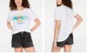 Love Tribe Hybrid Juniors' Peanuts Snoopy Joe Cool Graphic T-Shirt