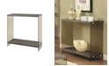 Coaster Home Furnishings Clayton Sofa Table with Glass Sides