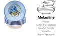 Certified International Hydrangea Garden Melamine 6-Pc. All Purpose Bowl Set