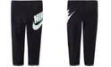 Nike Little Girls Futura Skinny-Fit Stretch Star Logo-Print Leggings