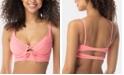 SUNDAZED Sonia Tie-Front Bikini Top