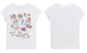 Polo Ralph Lauren Baby Girls Graphic Cotton T-Shirt